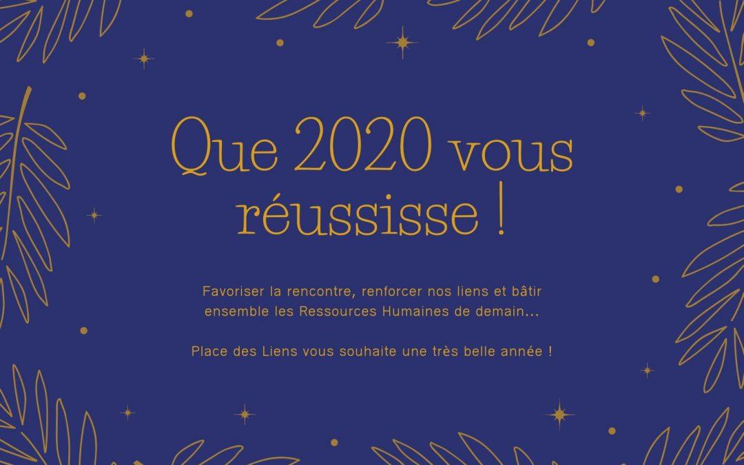 Que 2020 vous réussisse !
